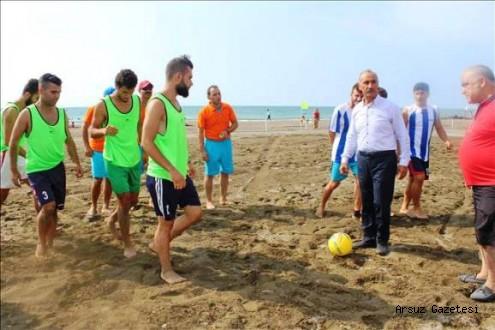 2016 TFF Plaj Futbolu Ligi Başlıyor