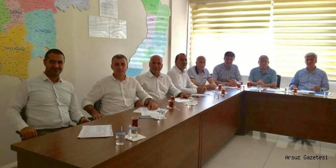 AK Parti Arsuz İlçe Koordinatörleri görevlendirildi