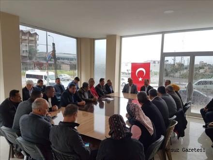 AKP Arsuz´da 'değerlendirme´ toplantısı