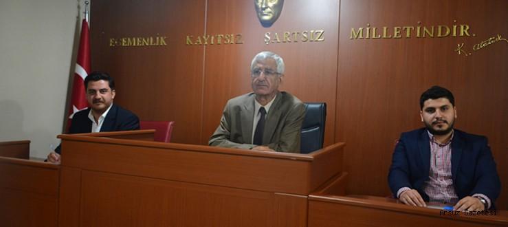 Arsuz Belediyesi İlk Meclis Toplantısını Gerçekleştirdi