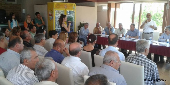 Arsuz Belediyesi Personeli Halk ile Buluştu