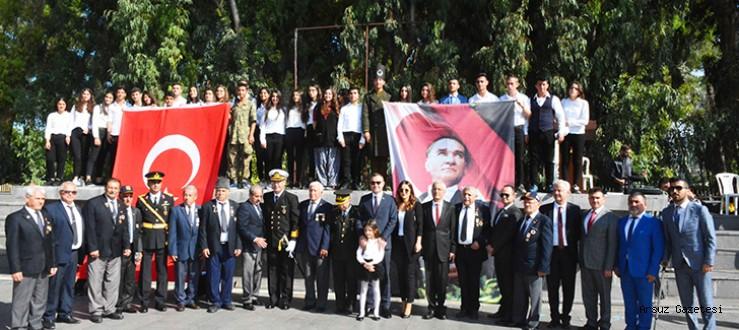 Arsuzda Cumhuriyet Bayramı Törenle Kutlandı