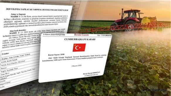 Arsuz'da Desteklenecek Ürünlerin Listesi Açıklandı.