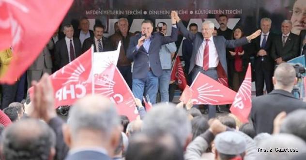 Arsuz'da efsane başkana sonsuz 'Güven' var