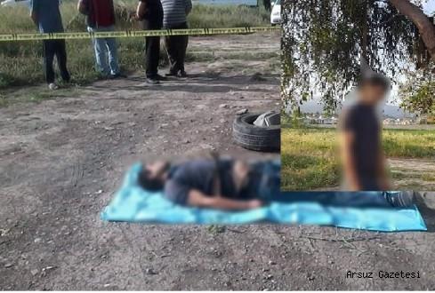 Arsuz'da Genç kemeriyle kendin ağaca astı!