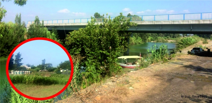Arsuz'da Karadeniz İşi Köprü!