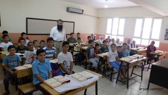 Arsuz'da Kur'an ve Arapça Kursu devam ediyor....