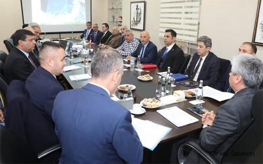 Arsuz'da Marina İçin Toplantı.