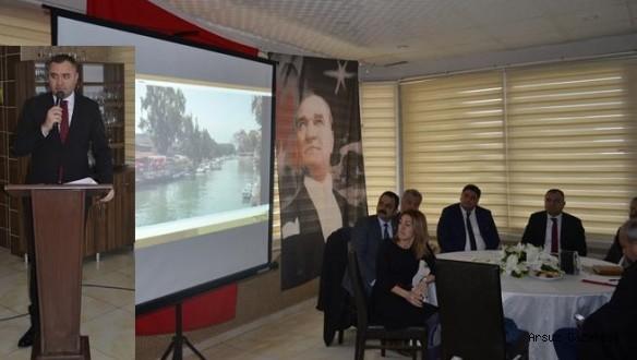 Arsuz'da Sağlık, Eğitim ve Spor konulu Çalıştay Yapıldı.