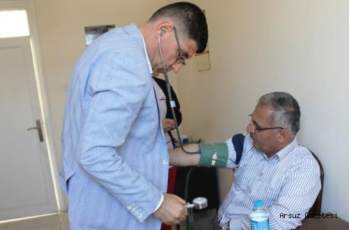 Arsuz'da Sağlık Taraması Yapıldı