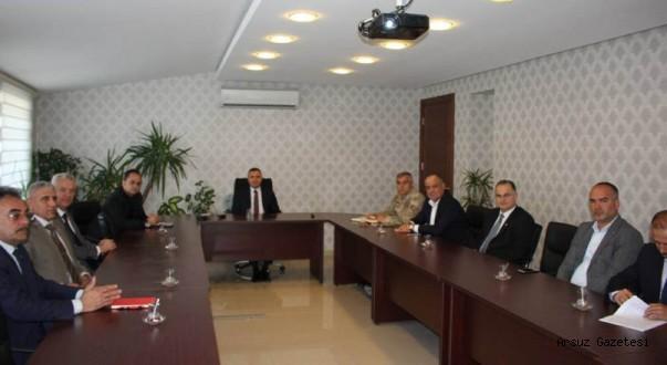 Arsuz'da Seçim Güvenliğine Sıkı Önlem