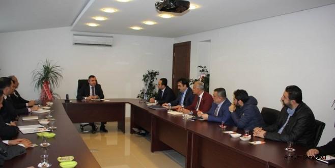Arsuz'da Spor Masaya Yatırıldı.