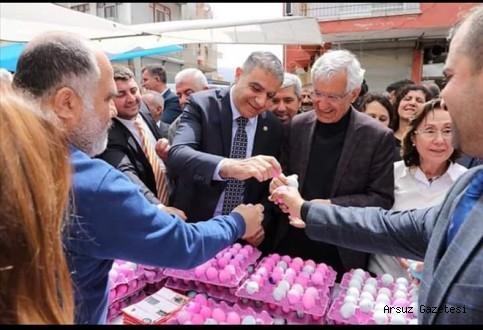 Arsuz'da Yumurta Bayramı kutlandı
