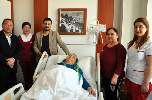 Arsuz'lu Hakime Kısaayak 77 Yaşında Hayata Tutundu.