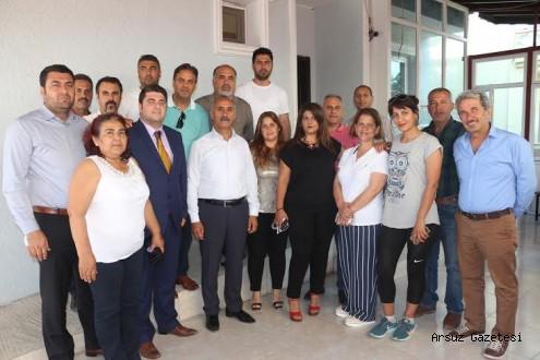 Arsuz Turizm ve Kültür Derneği Belediye Başkanını Ziyaret Etti...