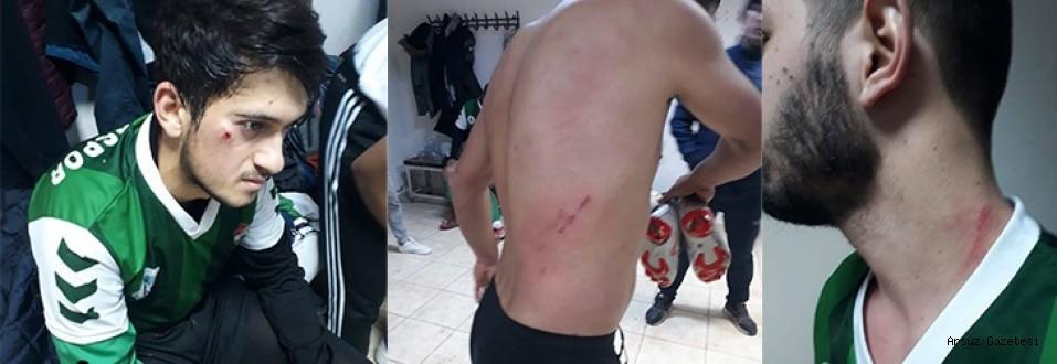 Arsuzlu Futbolculara Saldırı ...