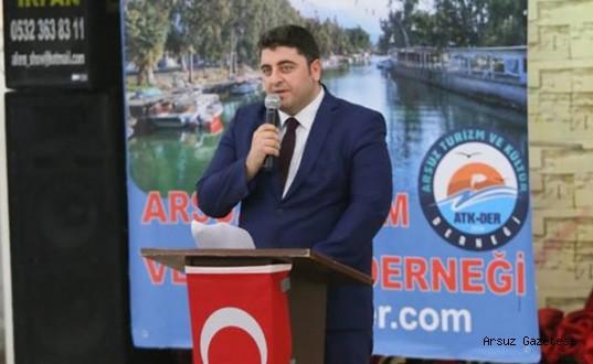 """ATKDER Başkanı Arslandan""""Turizm Haftası"""" Kutlama Mesajı"""