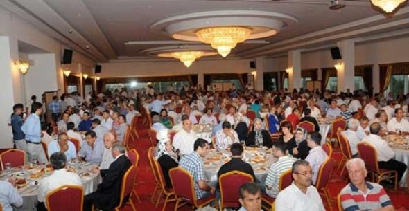 Ergin AKP Teşkilatı ile  İftar Yemeğinde Buluştu.