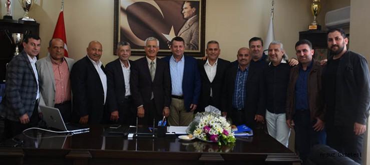 Başkan Güven, Arsuz Karaağaçspor Yönetimini Ağırladı