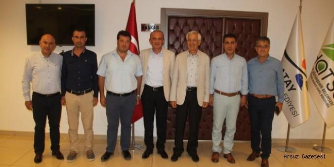 Başkan Güven'den, Taygun Cantürk'e Ziyaret
