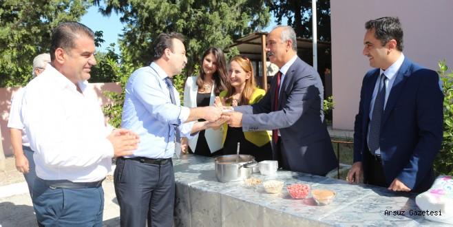 Başkan Nazım Culha, Aşure Tenceresinin Başına Geçti