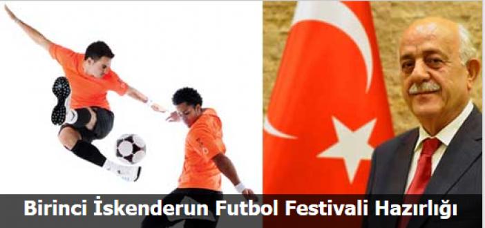 Birinci İskenderun Futbol Festivali Hazırlığı