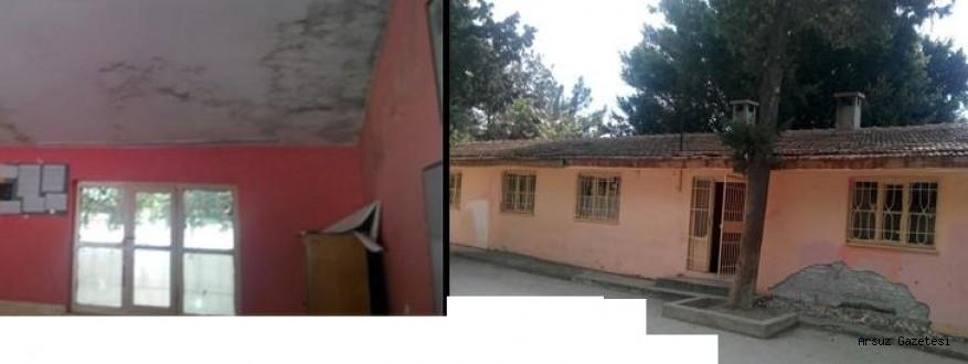 Burası Arsuz'da Bir Okul ve Kimse Kılını Kıpırdatmıyor