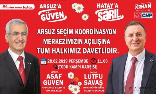 CHP Arsuz'da büyük buluşma