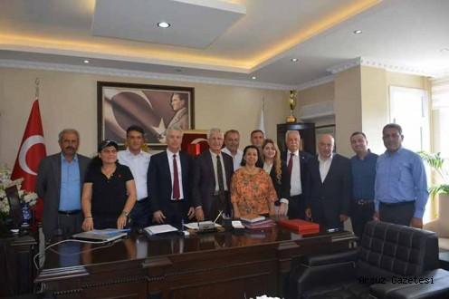Chp Arsuz'dan Başkan Güven'e Hayırlı Olsun Ziyareti
