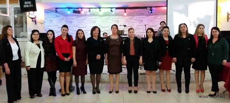 CHP Arsuz Kadın Kolları Tek Yumruk !