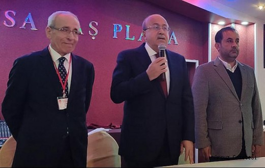 CHP İskenderun'da Mansuroğlu güven tazeledi…