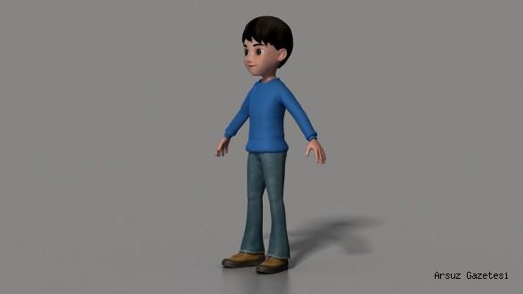 Çocuk Karakter, Hatay'ı Tanıtacak ...