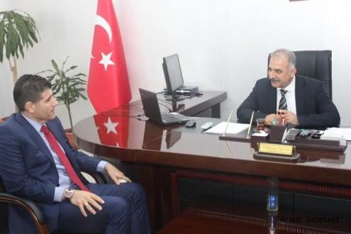 Dr. Ender ÇOLAKOĞLU, Samandağ Belediye Başkanı Mithat Nehiri Ziyaret Etti.