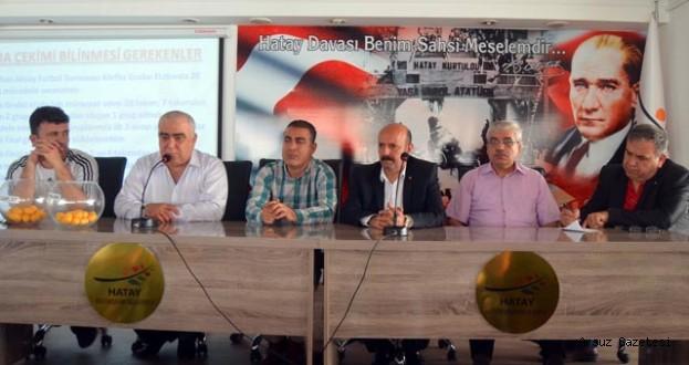 Erhan Aksay Futbol Turnuvası Arsuz'da