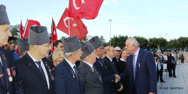 Gazi Mustafa Kemal Atatürk İskenderun'da Anıldı