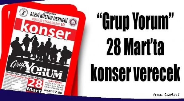 """""""Grup Yorum"""" 28 Mart'ta konser verecek"""