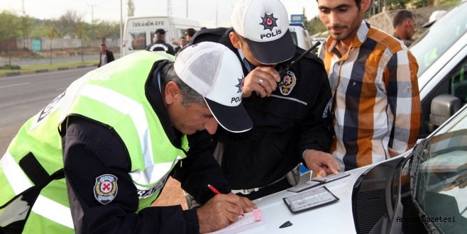 Hatay'da Bir Haftada 2.555 Araç Sürücüsü Ceza Aldı