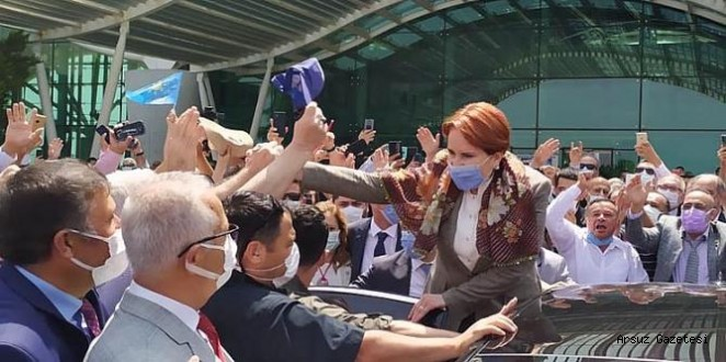 Hatay'da 'Cumhurbaşkanı Akşener' sloganlarıyla karşılandı