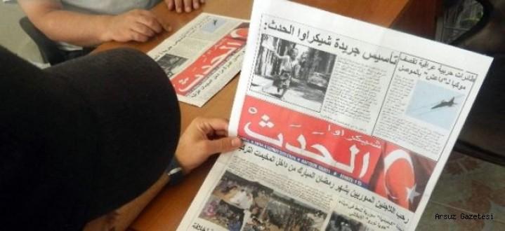 Hataydaki Suriyeliler İçin Arapça Gazete