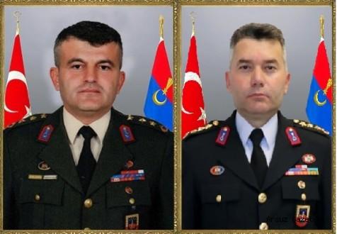 Hatay İl Jandarma Komutanı ERTEKİN, Siirt'e Atandı