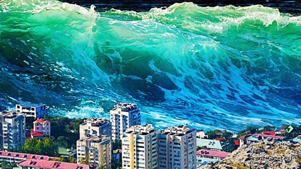 İskenderun'a Tsunami Uyarısı