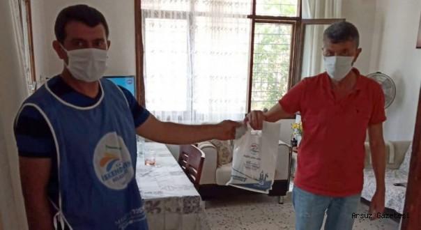 İskenderun Belediyesinden Arsuz'a Yardım !