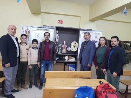 İTSO'dan Beyköy Ortaokul'una Laboratuvar Malzemesi…