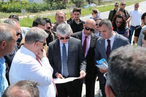 Vali, Arsuz'da HADO İçin Talimat Verdi