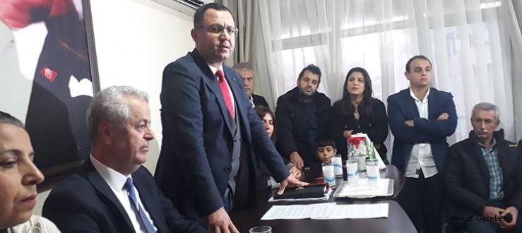 MAZMAN; CHP İlçe Başkanlığına Aday