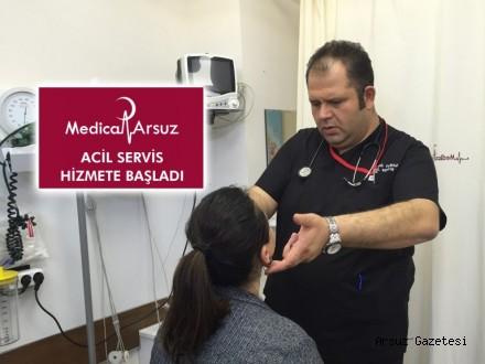 Medica Arsuz Tıp Merkezi Hasta Kabulüne Başladı