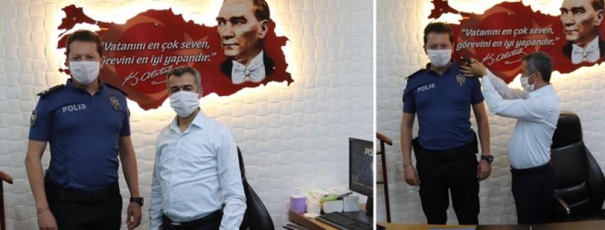 Mehmet Vanlı Komiserliğe Terfi Etti