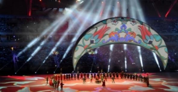 Akdeniz Oyunlarında Görkemli Açılış.