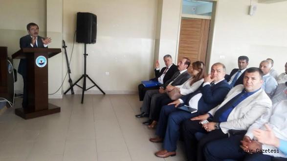 Nikah memurları Arsuz'da buluştu