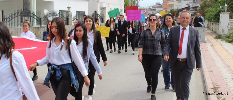 Arsuz'da Turizm Haftası Kutlamaları Başladı.